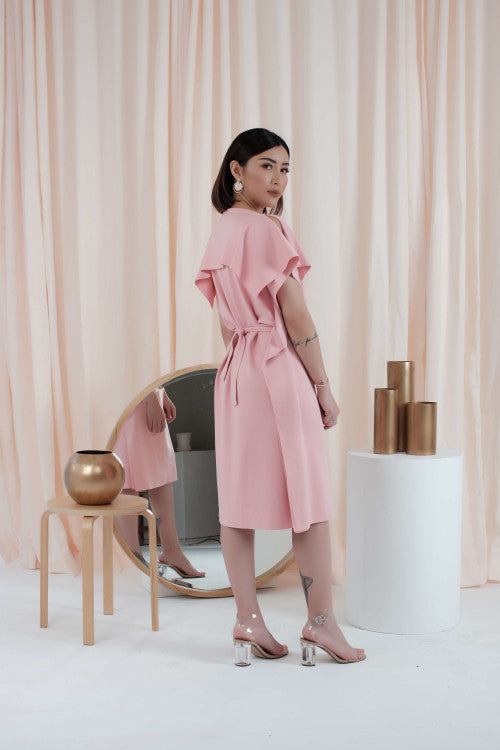 Allium Dress in Pink