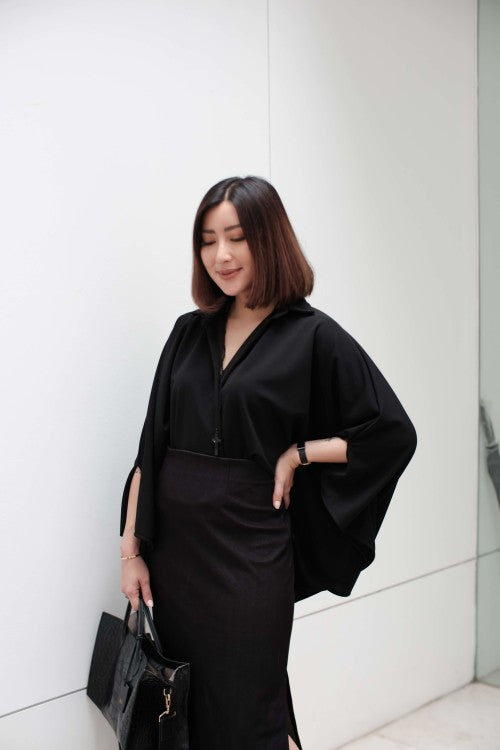 Oversized Shirt in Black