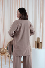 Marvey Oversized Coat in Milo