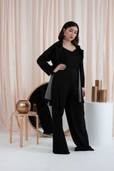 Marvey Oversized Coat in Black= 1 PCS LEFT!