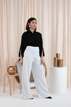 Lavin Wide Leg Pants in White