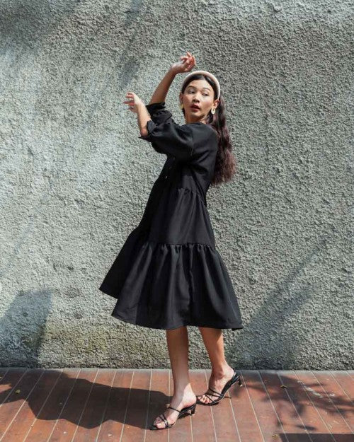 Capri Dress in Black (PO 7 - 20 DAYS)