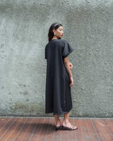 Cruz Outer Dress in Black