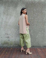 Costa Multiway Vest Top in Nude (READY STOCK)