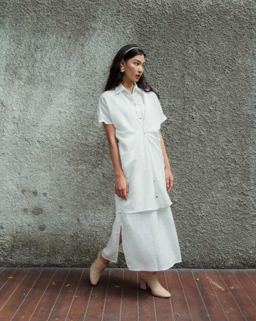 Sicily Multiway Shirt in White (READY!)