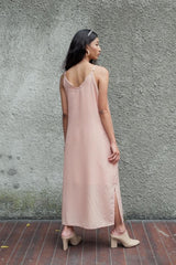 Basic Slip Dress in Blush Nude (READY!)