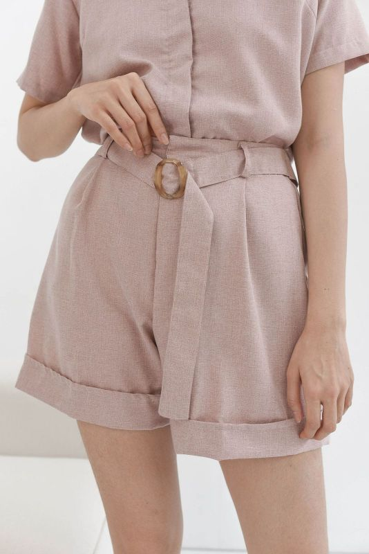 Becca Cotton Short in Dusty Pink