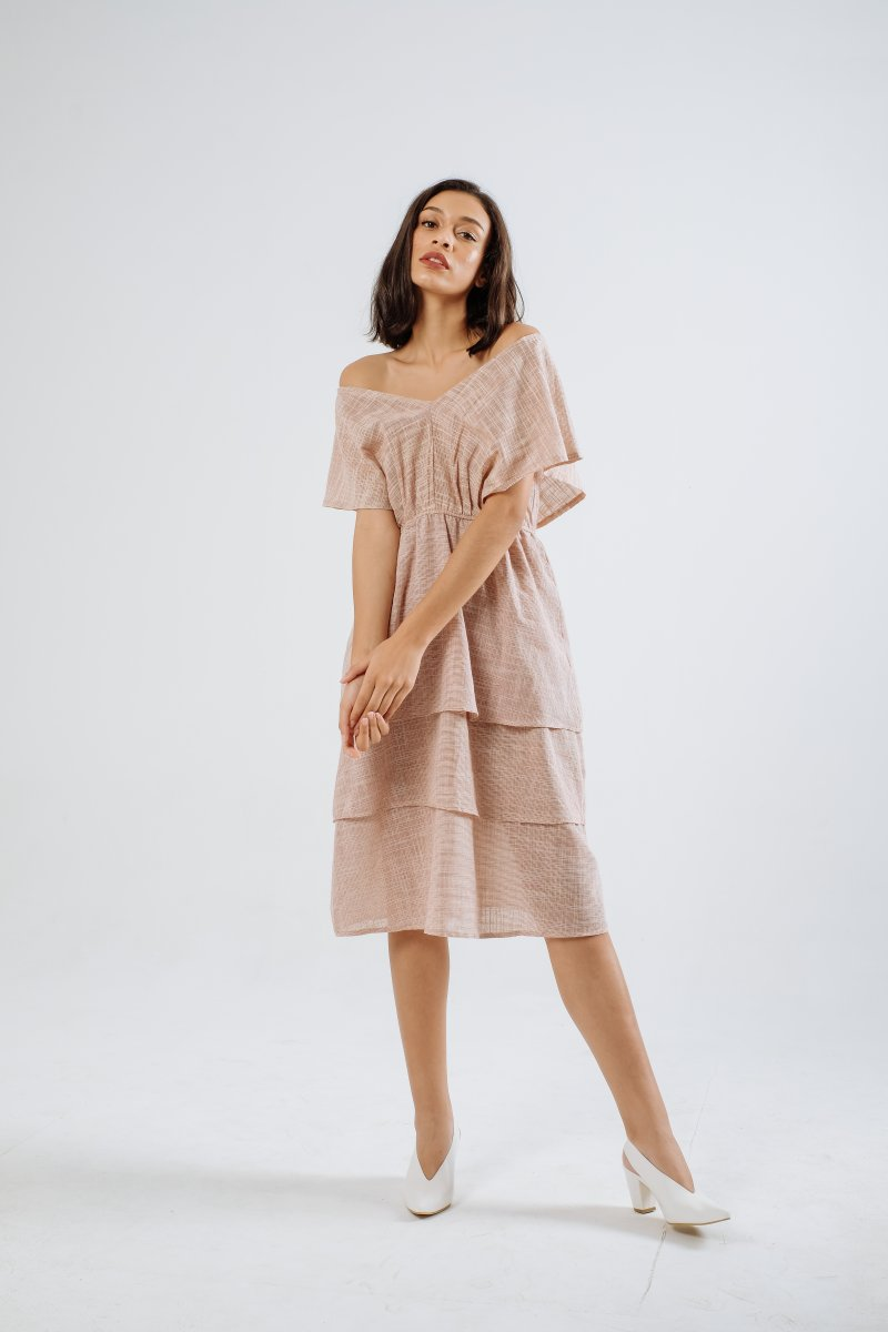 Salsa Linen Multiway Dress in Soft Pink