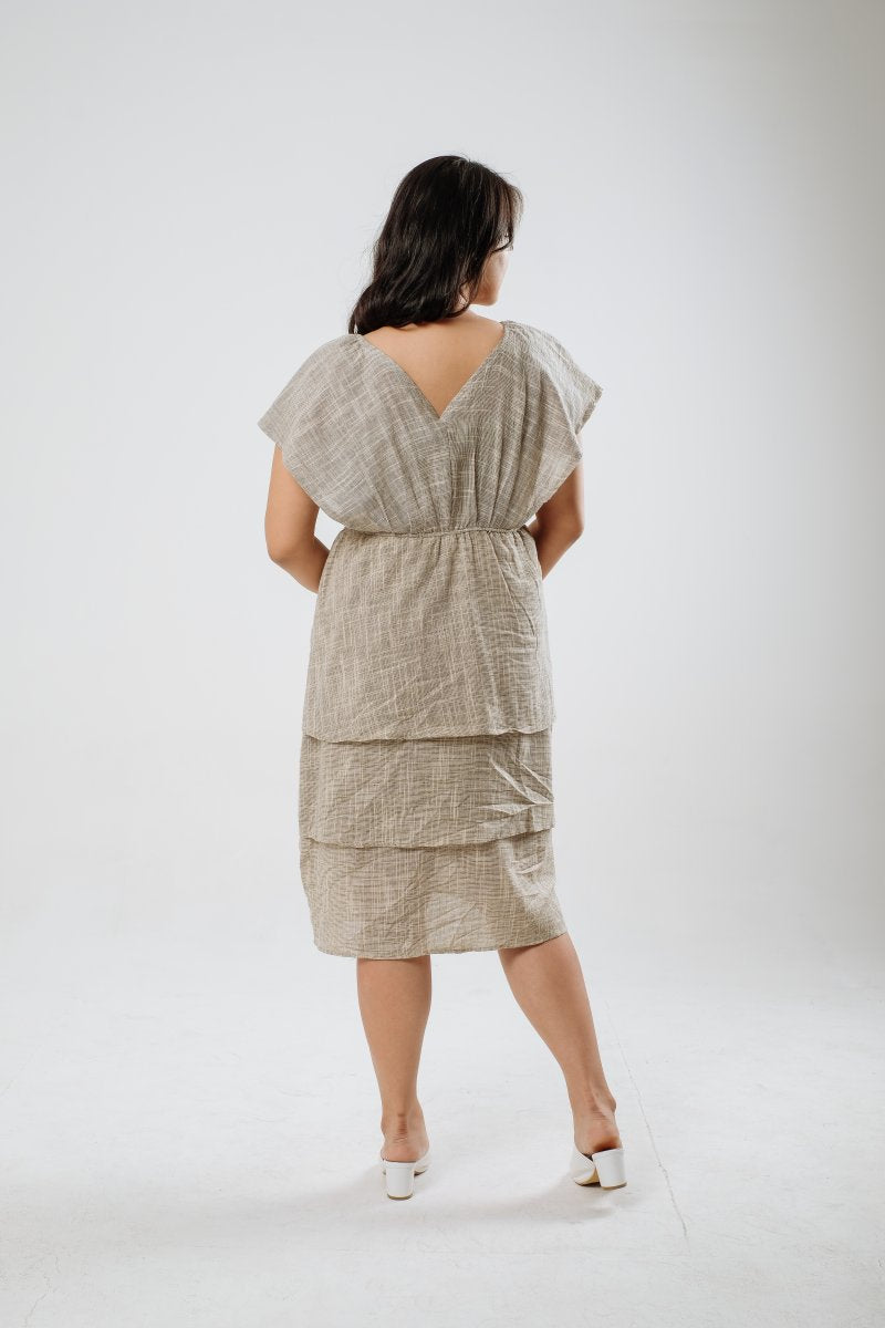 Salsa Linen Multiway Dress in Gray