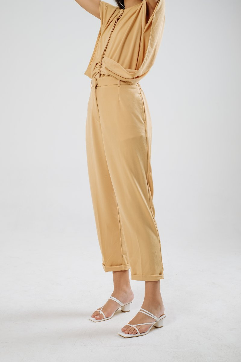 Palmer Highwaist Pants in Honey