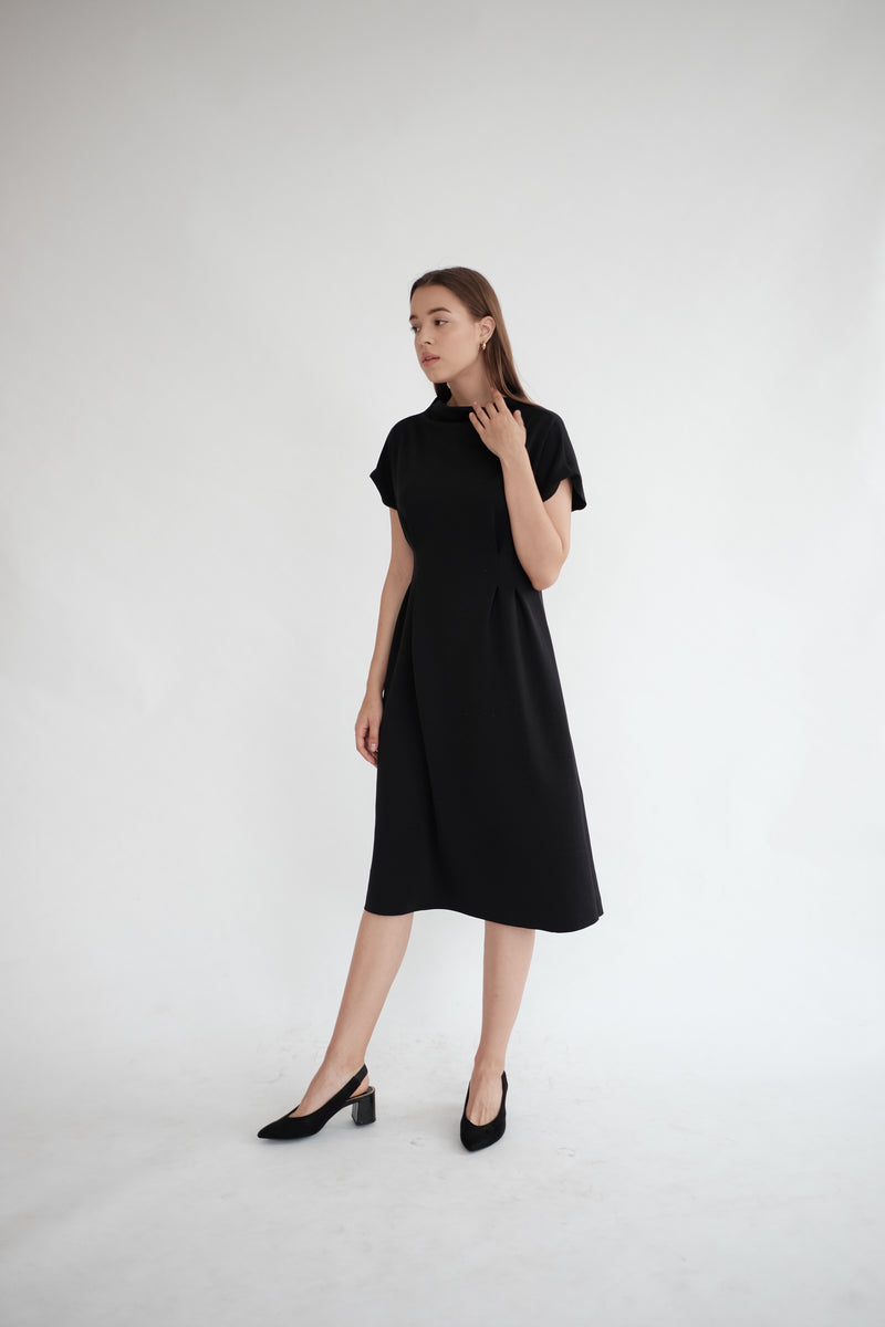 BROOKLYN DRESS IN BLACK