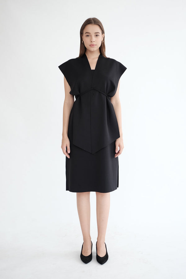 Sierra Multiway Dress in Black