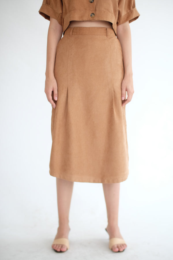 East Skirt Cullote in Caramel