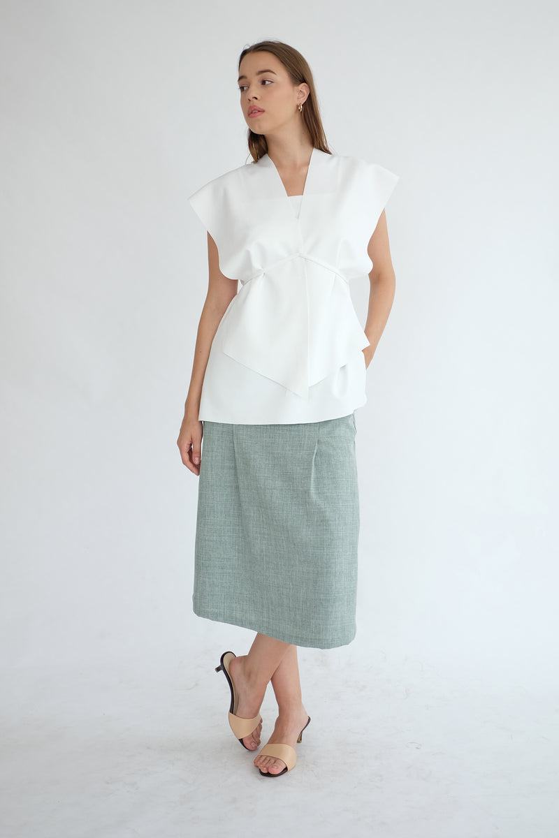Nora Multiway Top in White
