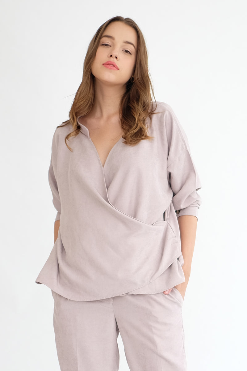 Nobel Reversible Top in Ash Lilac