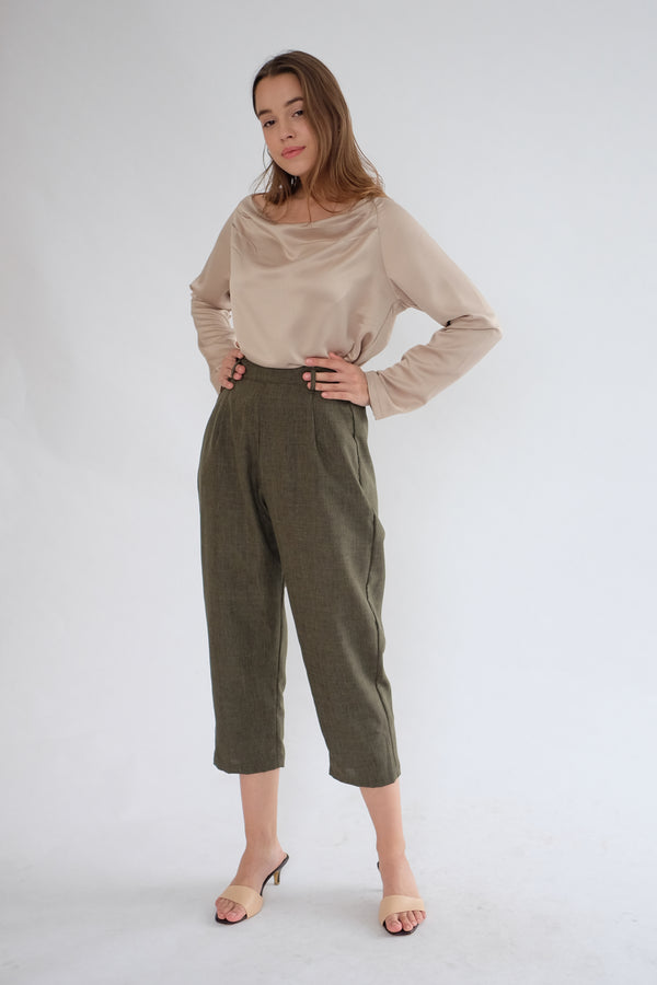 Soho Daily Pants in Olive