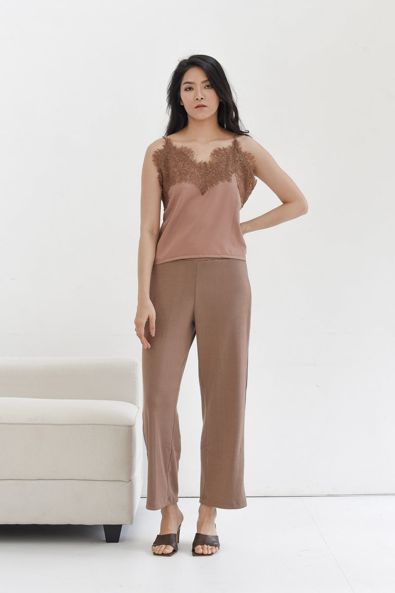 Lace Camisole in Copper