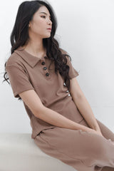 Home Rib T-shirt in Milo