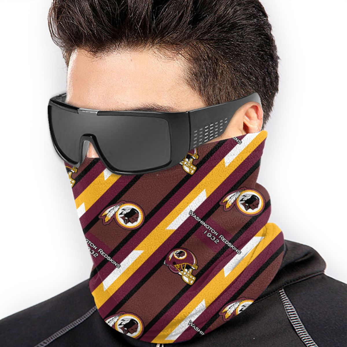 Washington Redskins Washington Redskins Neck Warmer Scarf Bandana Face Mask Protection