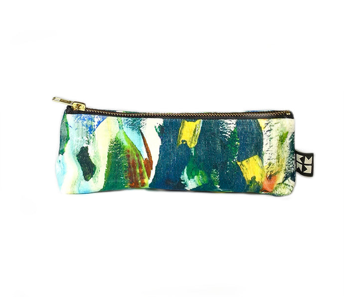 Abstract Needle Cord Case