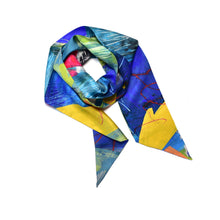 Load image into Gallery viewer, Elterwater Skinny Silk Scarf