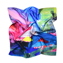 Load image into Gallery viewer, Morecombe Silk Scarf