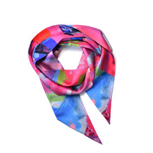 Load image into Gallery viewer, Cove Skinny Silk Scarf