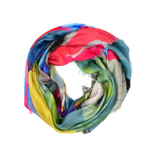 The Lakes Silk Modal Scarf