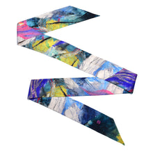 Load image into Gallery viewer, Staveley Skinny Silk Scarf