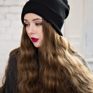 Christmas promotion,Hurry up! (Wool hat)Hair Wig Cap-Buy 2 Free Shipping(With color chart)