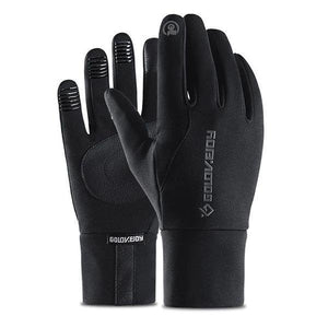 Winter Warm Waterproof Touch Screen Gloves Left And Right Hand For Riding、Climbing、Skiing And So On