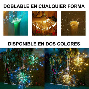LED copper wire fireworks lights