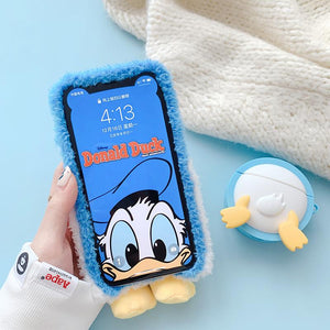 Plush Duck Case For iPhone