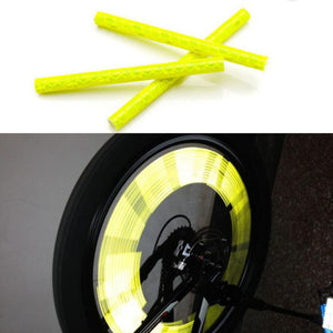 【50% OFF TODAY!】Bicycle Wheel Spoke Reflector (12 PCS)