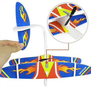 (Black Friday - 50% Off)✈✈Outdoor toy electric hand throwing model glider