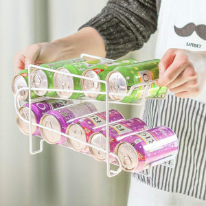[New Year's hot sale] Roll storage rack for cans