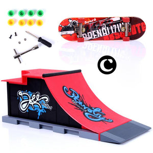 Finger Skateboard Park Ramp