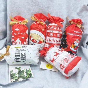 50% OFF Holiday Promotion-Drawstring Christmas Gift Bags【Recommend buy 100pcs】