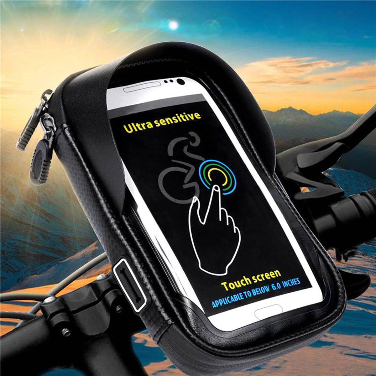 Waterproof Bike/Bicycle Phone Mount