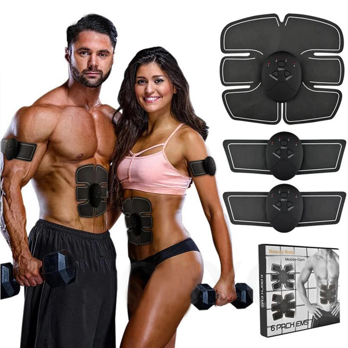 Abdominal Muscle Trainer EMS Machine
