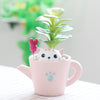 Cat Plant Pot for Indoor Plants