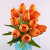 12pcs Artificial Real Touch Tulips