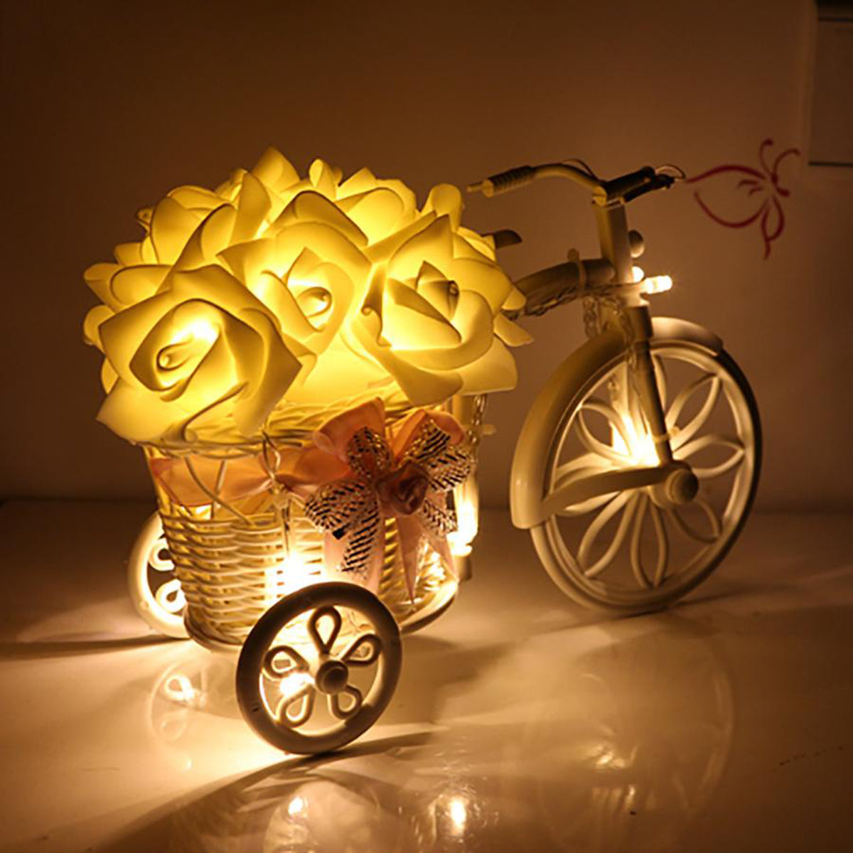 Christmas LED Rose String Lights