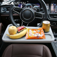 Easy-to-Use & Adjustable Car Food Tray