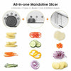 Easy-to-Use & Multi-Function Mandoline Chopper