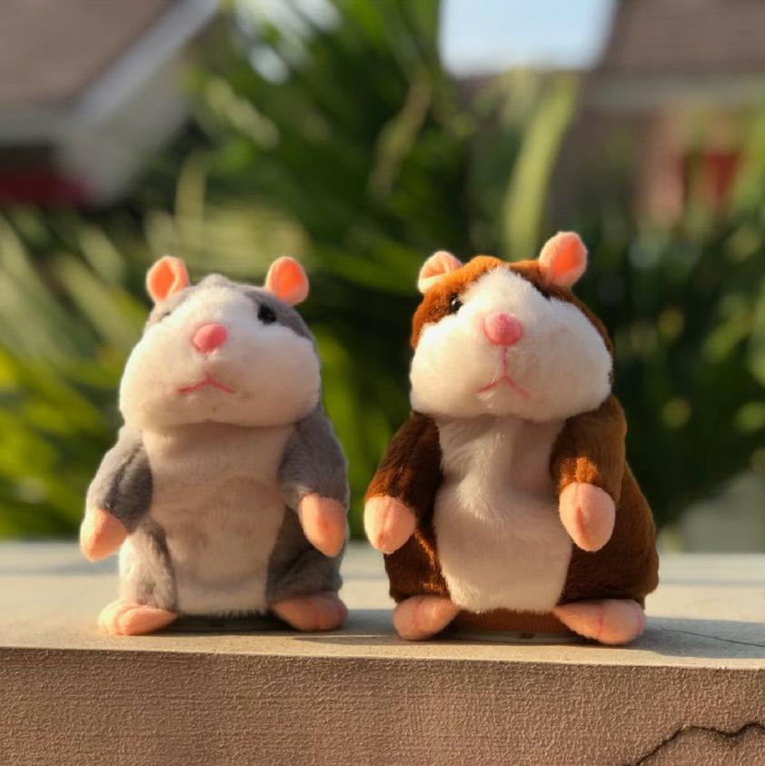 Electronic Talking Hamster Plush Toy