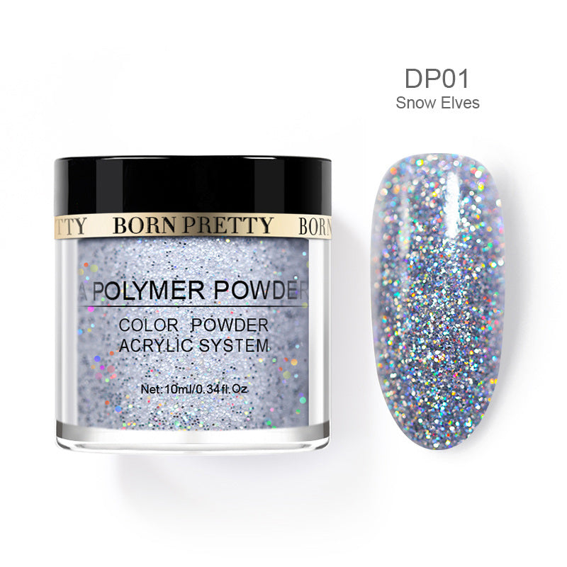 Simple-to-Use Glitter Nail Dipping Powders