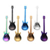 Stainless Steel Guitar Shaped Spoons