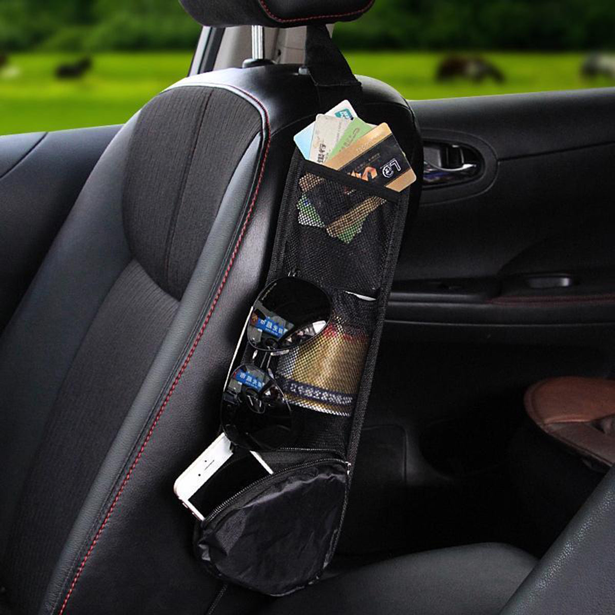 Hanging Car Seat Storage Bag
