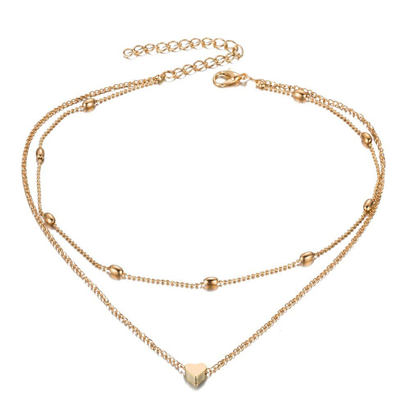 Trendy Love Heart Necklace for Women